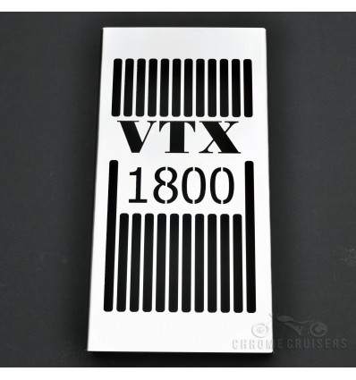 Hond VTX1800 Custom (2001-2008) Stainless Steel Radiacor Cover