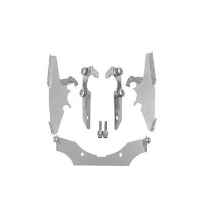 SUZUKI VL800 / C50 MOUNTING KIT TRIGGER-LOCK MEMPHIS FATS/SLIM POLISHED