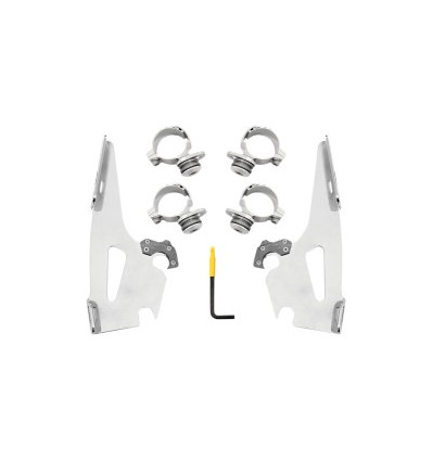 INDIAN SCOUT (2015-2018) MOUNTING KIT TRIGGER-LOCK MEMPHIS FATS/SLIM POLISHED
