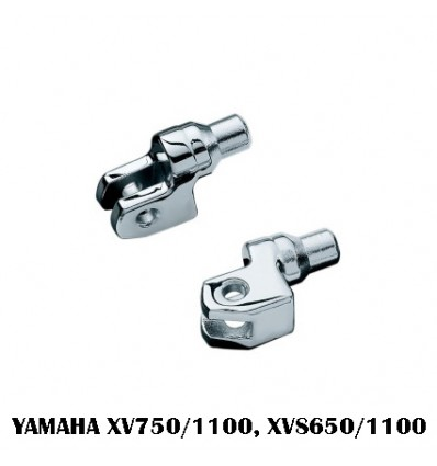 Yamaha XV 750/1100 XVS650/1100 Kuryakyn Rider (Front) Floorboards Splined Adapter