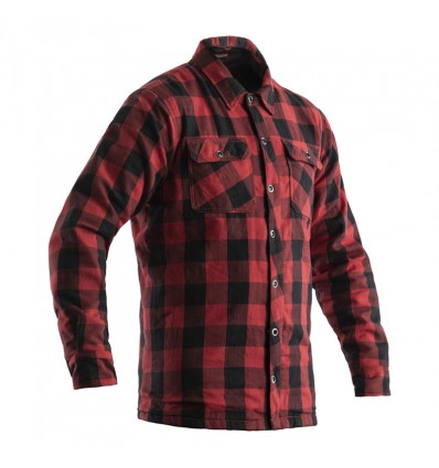 RST Lumber Jack Aramid CE Mens Lined Textile Motorcycle Shirt