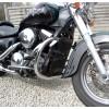 Kawasaki VN1500 Classic / Drifter / Mean Streak - Chrome Engine Guard / Crash bar