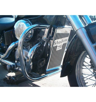 Honda VT750 DC Shadow Chrome radiator cover