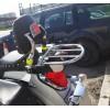 Suzuki VL800 C800 C50 Boulevard VL1500 LC Intruder Chrome Luggage Rack for OEM Suzuki passenger backrest