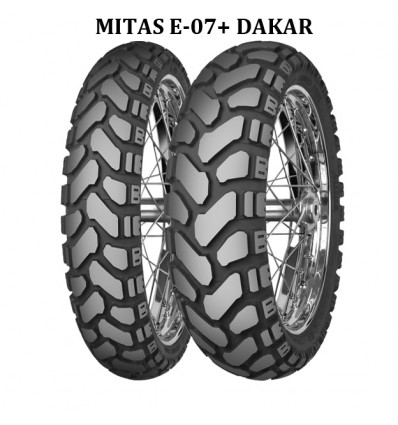 NEW MITAS E-07+ DAKAR 120/70/19 + 170/60/17 F+R BMW R1200GS LC / ADVENTURE