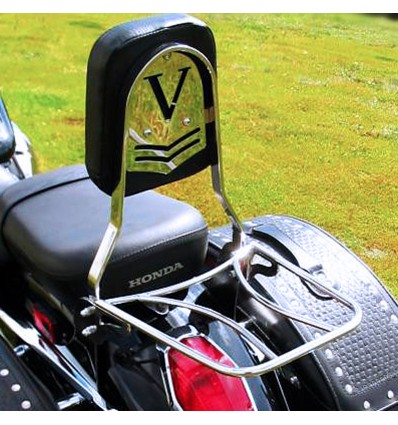 Honda VT750 C4 / C5 / Aero RC50 Shadow (2004-) Sissy bar / Passenger Backrest with luggage rack