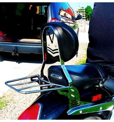 Honda VTX1800 Custom - Passenger backrest / sissybar