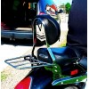 Honda VTX1800 Custom - Passenger backrest / sissybar