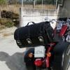 K131A Motorcycle / Trike Black Leather Rear Bag / Case / Sissy Bar Bag