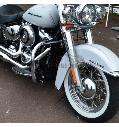 Harley Davidson Softail NEW MODEL (2018-2019) Chrome Engine Guard Crash Bar