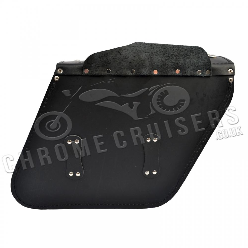 motorrad leder satteltaschen satteltasche yamaha xv535 750. Black Bedroom Furniture Sets. Home Design Ideas
