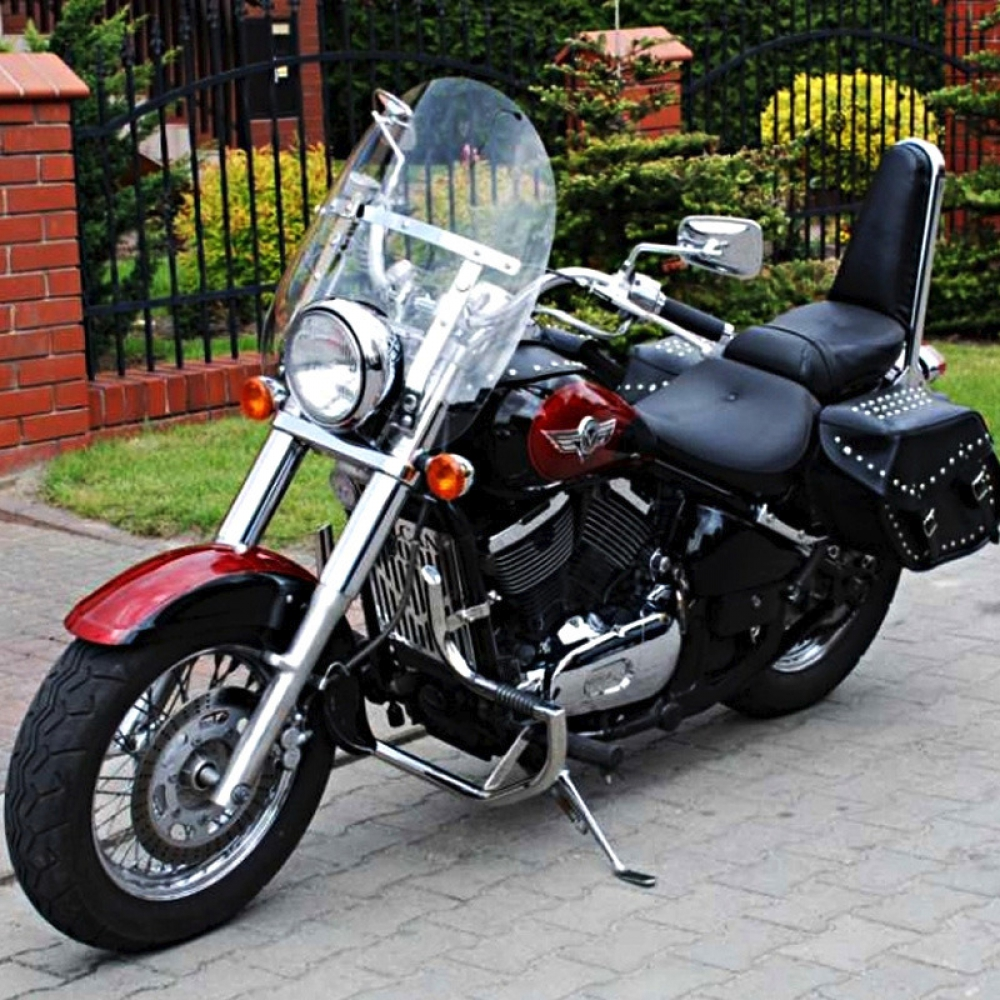 kawasaki vn800 vulcan classic engine crash bar guard with. Black Bedroom Furniture Sets. Home Design Ideas