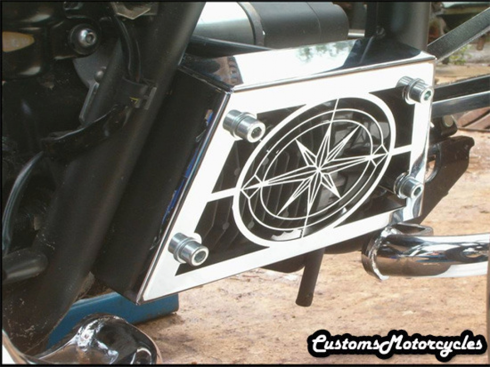 Yamaha V Star Rectifier Cover