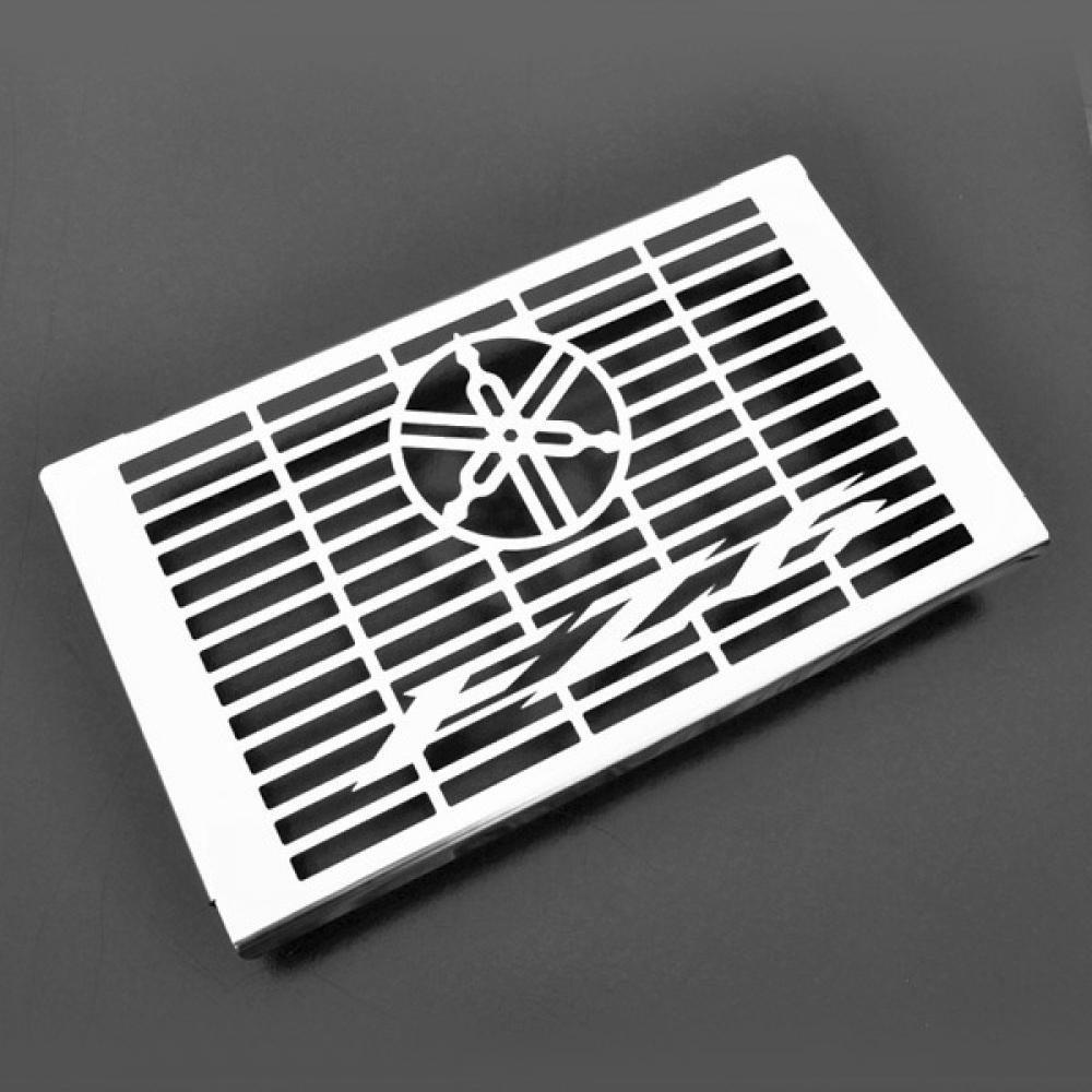 Yamaha fz6 s2 fazer acier inoxydable radiateur housse protection grille ebay - Radiateur en anglais ...
